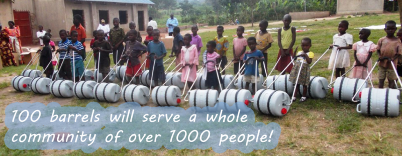 Rotary Water Barrels